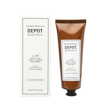 Depot 207 Odżywka do włosów z białą glinką regulująca produkcję sebum 125ml