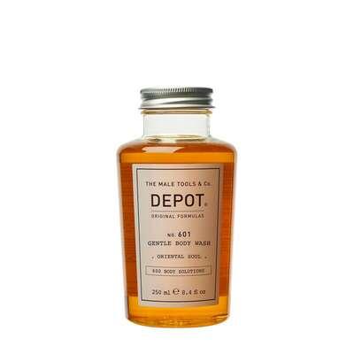 Depot 601 Delikatnie oczyszczający żel pod prysznic o zapachu orientalnym 250ml