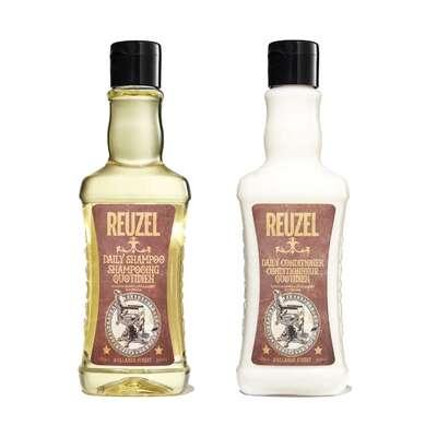 Reuzel Zestaw szampon i odżywka codziennego używania 2x100ml