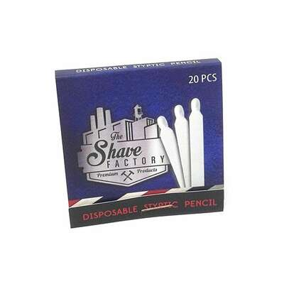Shave Factory Zapałki ałunowe - 20 sztuk