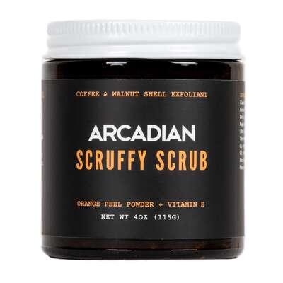 Arcadian - Scruffy Scrub - Peeling kawowy do suchej, szorstkiej skóry 115g