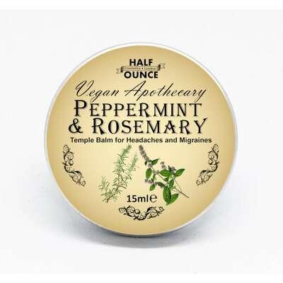 Half Ounce Cosmetics London - Kojący balsam na bóle głowy i migreny 15ml