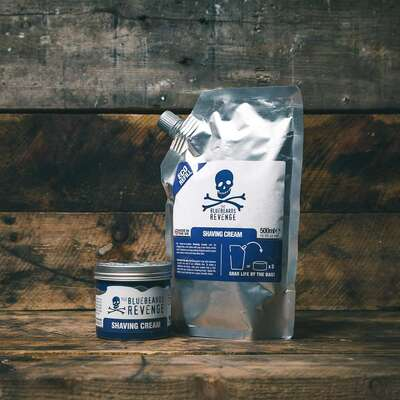 Bluebeards Shaving Cream Refill - Uzupełnienie kremu do golenia 500ml