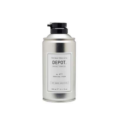 Depot 411 Emolientowa pianka do golenia 300ml