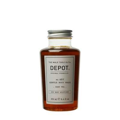 Depot 601 Delikatnie oczyszczający żel pod prysznic o zapachu czarnej herbaty 250ml