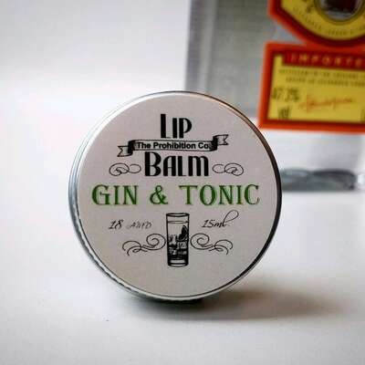 Half Ounce Cosmetics London - Balsam do ust aromat Gin and Tonic 15ml