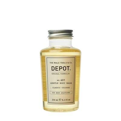 Depot 601 Delikatnie oczyszczający żel pod prysznic o zapachu klasycznej wody kolońskiej 250ml