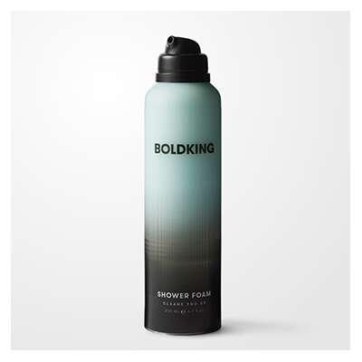 Boldking - Pianka pod prysznic do mycia ciała 200ml
