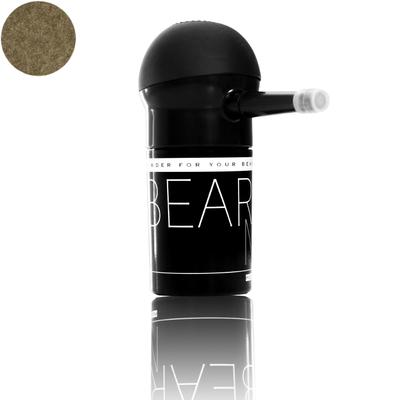 BeardMe - puder do zagęszczania brody - Czerń