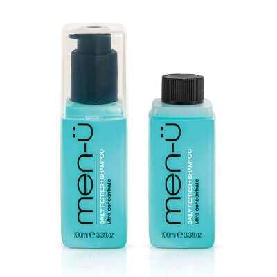 Men-u Męski zestaw do pielęgnacji włosów, nawilżający szampon oraz odżywka 2x100ml