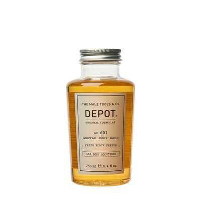 Depot 601 Delikatnie oczyszczający żel pod prysznic o zapachu czarnego pieprzu 250ml