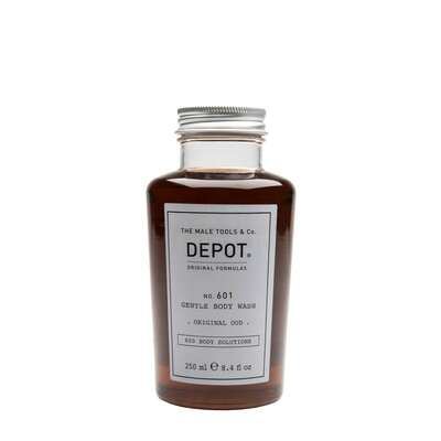 Depot 601 Delikatnie oczyszczający żel pod prysznic o zapachu OUD 250ml