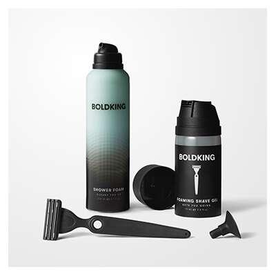 Boldking - The Shower and shave Giftset - zestaw prezentowy pod prysznic i do golenia