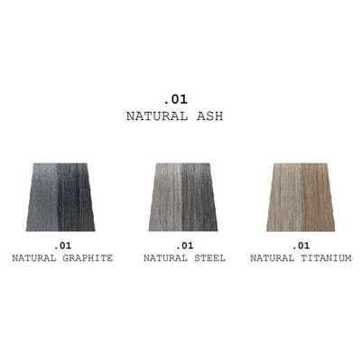 Depot 506 Zestaw do odsiwiania brody i włosów - kolor naturalny grafitowy - 60ml