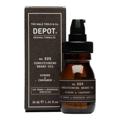 Depot 505 Odżywka do brody w olejku o zapachu imbiru i kardamonu 30ml