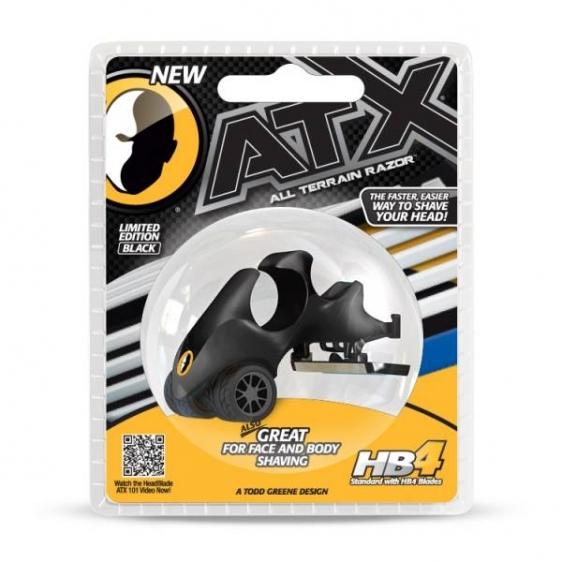 HeadBlade ATX Black Męska maszynka do golenia głowy na łyso