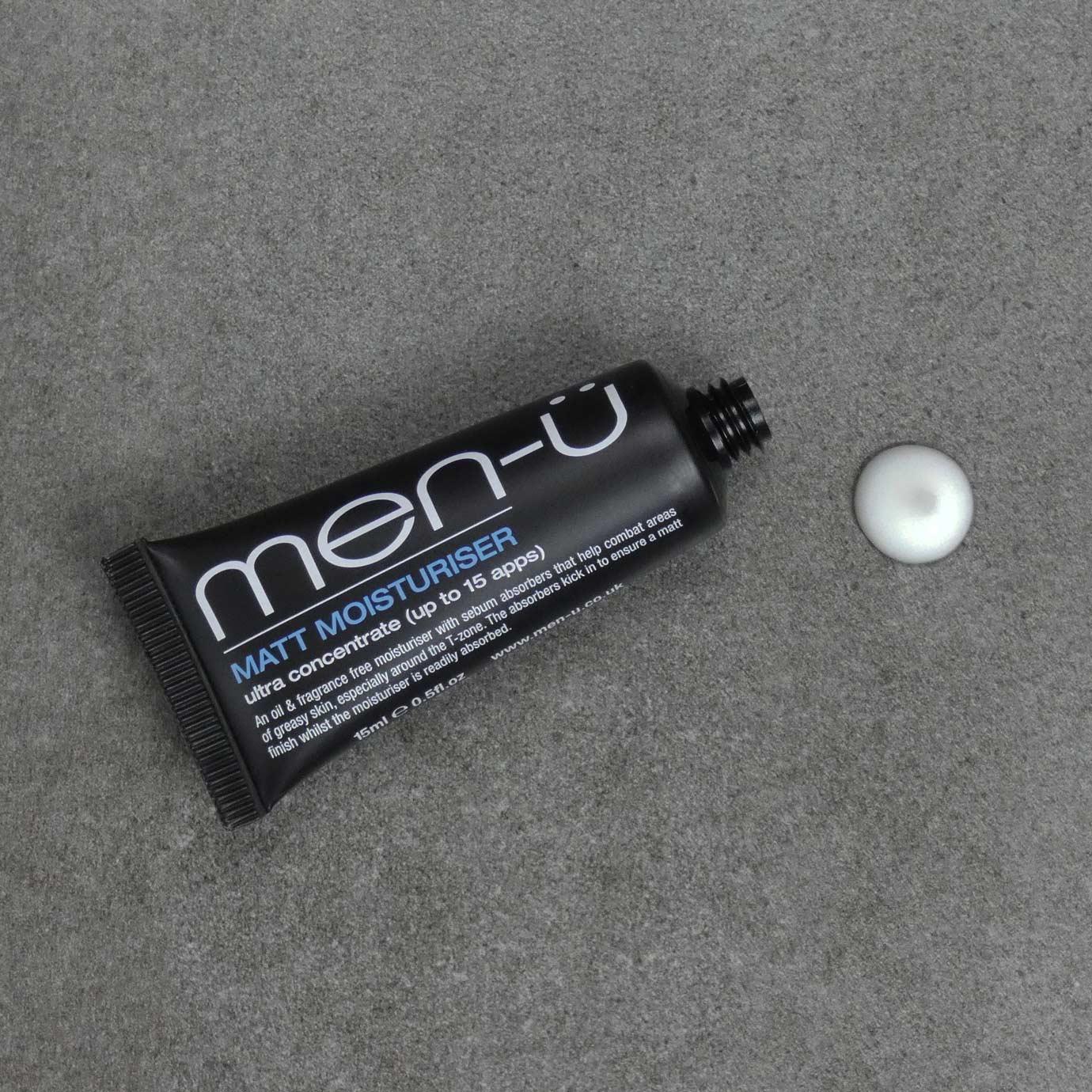 men-u Męski matująco-nawilżający mini balsam do twarzy 15 ml