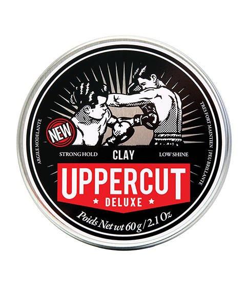 Uppercut Matt Clay Glinka do włosów mocny chwyt/wykończenie mat 60g