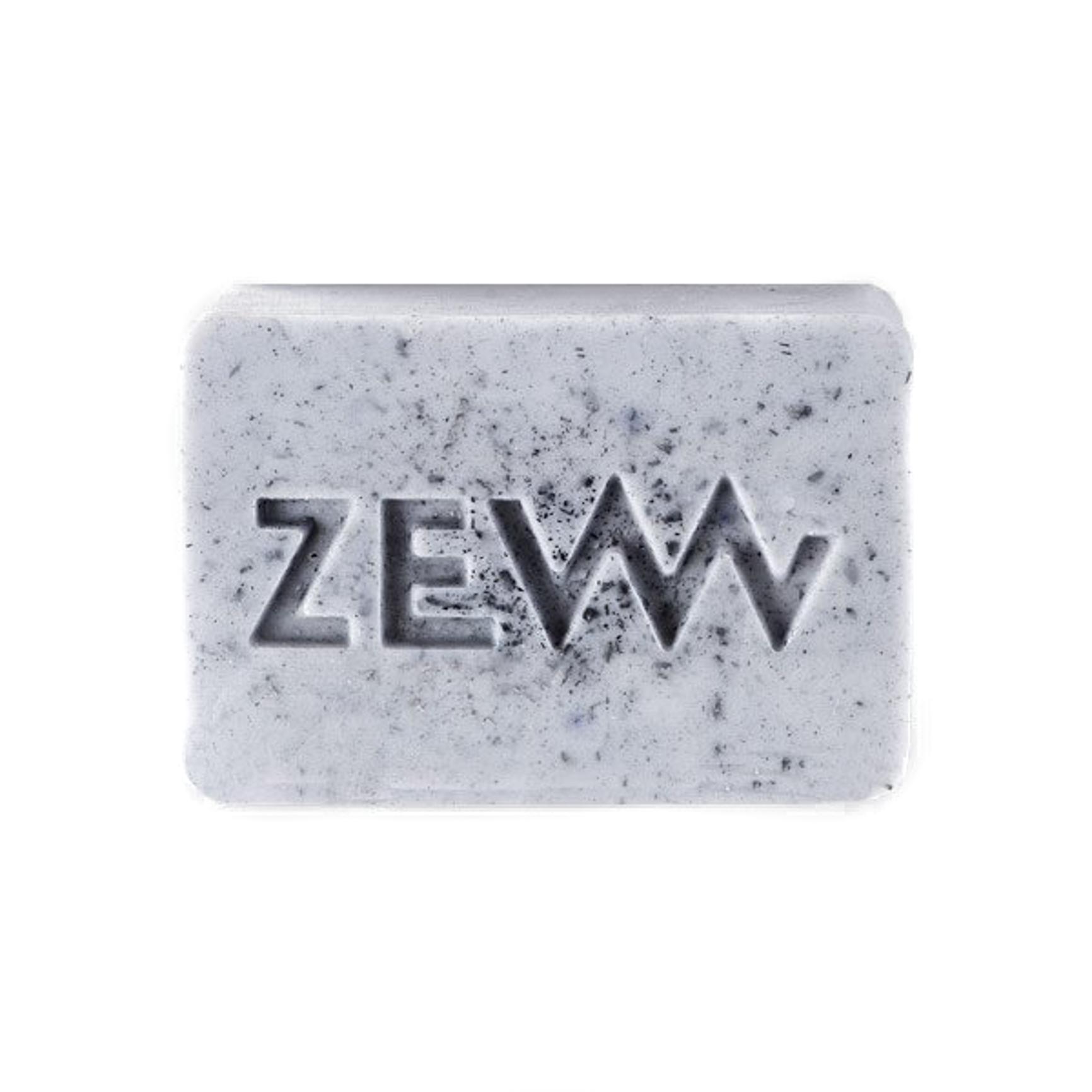 ZEW męski szampon w kostce do mycia włosów z węglem drzewnym 85ml