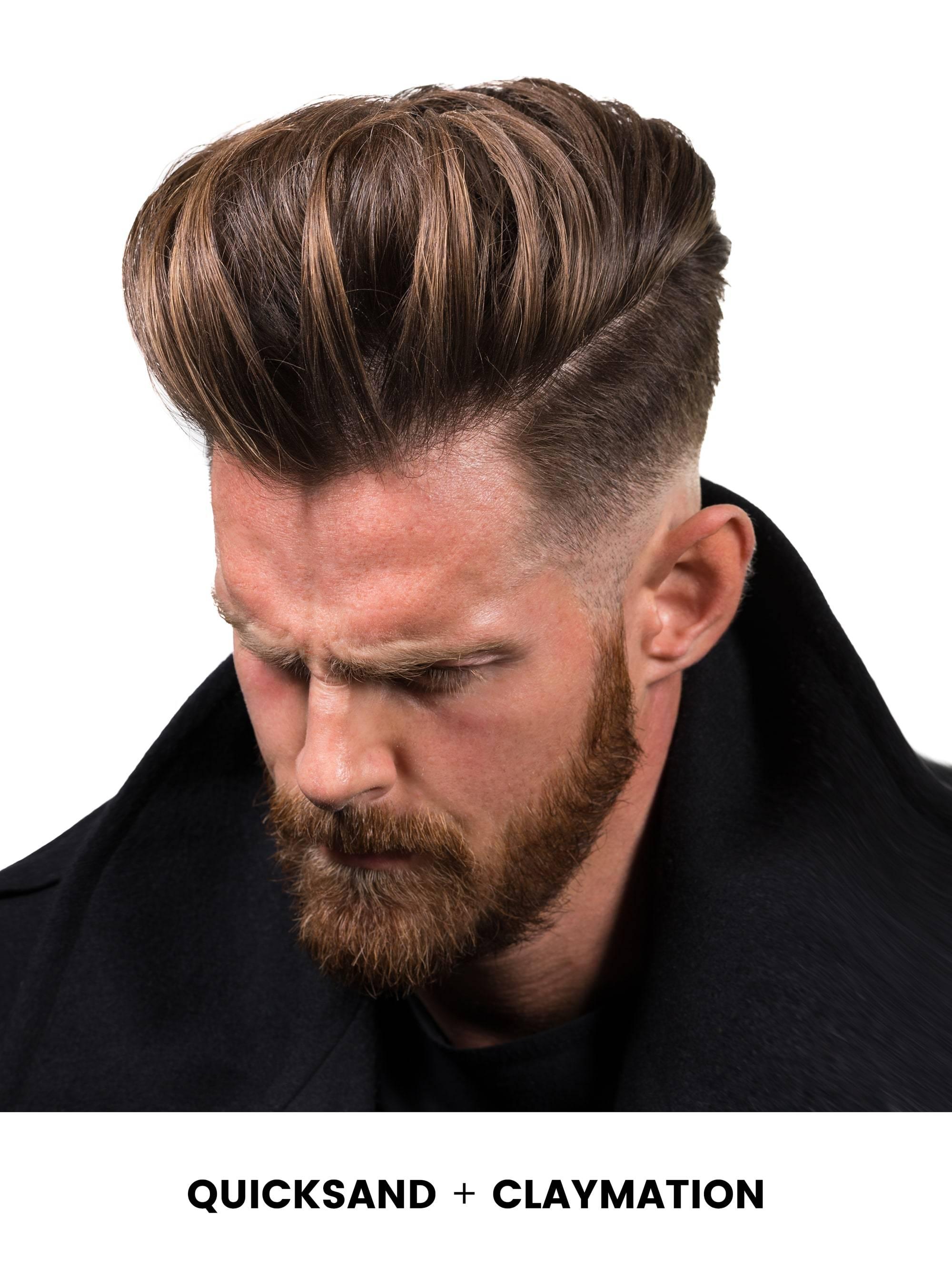HANZ DE FUKO Claymation Glinka do włosów bardzo mocny chwyt/matowe wykończenie 60ml