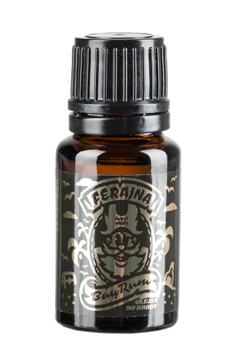 Pan Drwal odżywczy olejek zmiękczający brodę Ferajna Bay Rum 30ml (1)