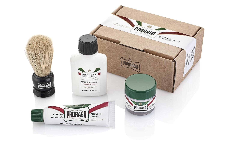 Proraso Travel shaving kit - podróżny zestaw do golenia