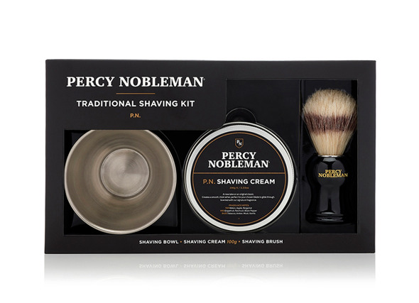 Percy Nobleman Traditional Shave Kit Zestaw do tradycyjnego golenia