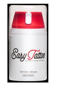 Easytattoo Zestaw do pielęgnacji tatuażu krem 100ml + żel 125ml