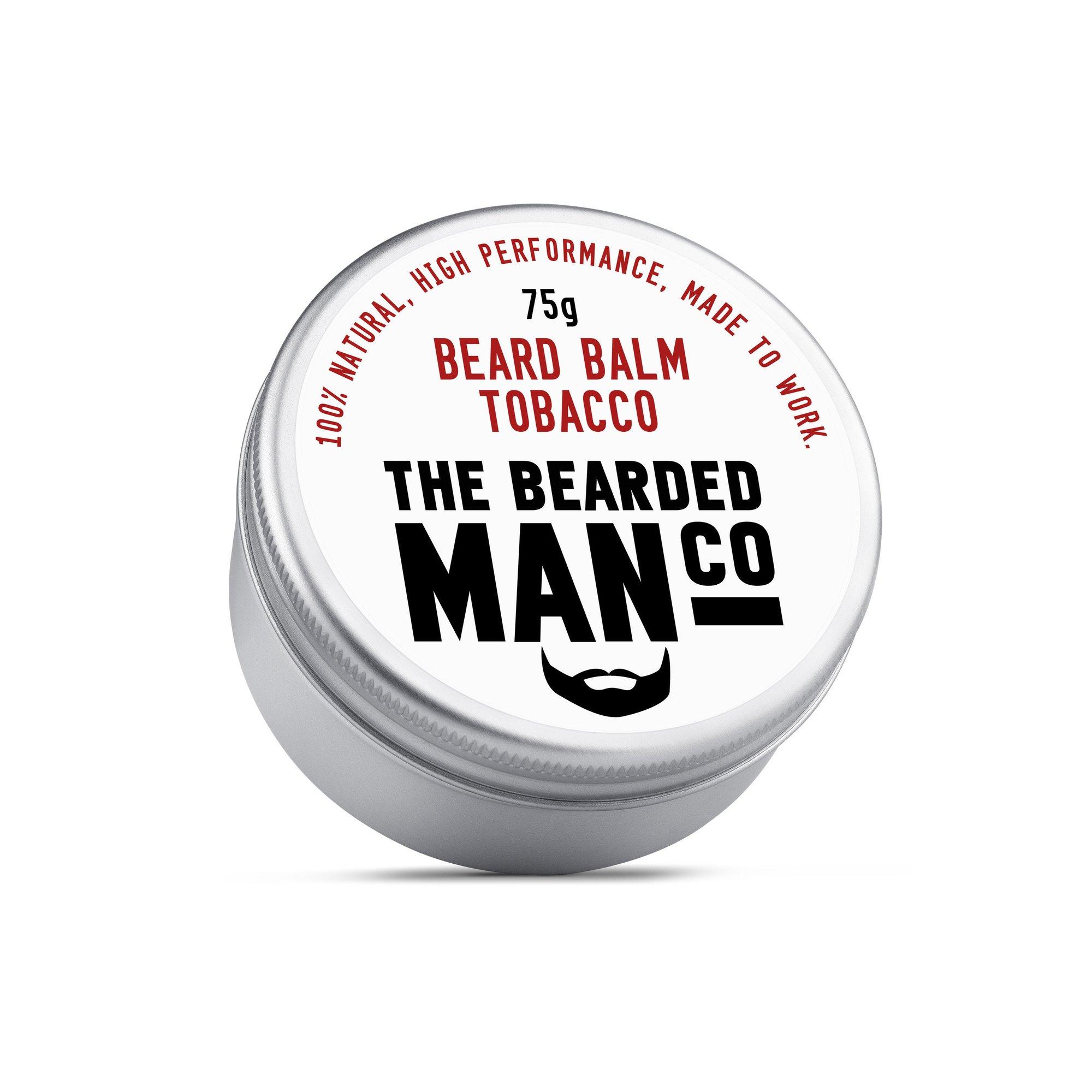 Bearded Man Co - Balsam do brody Tytoń - Tobacco 30g (1)