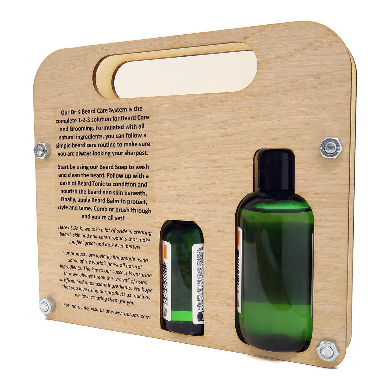 Dr K Soap Beard Care System Cool Mint - zestaw do pielęgnacji brody