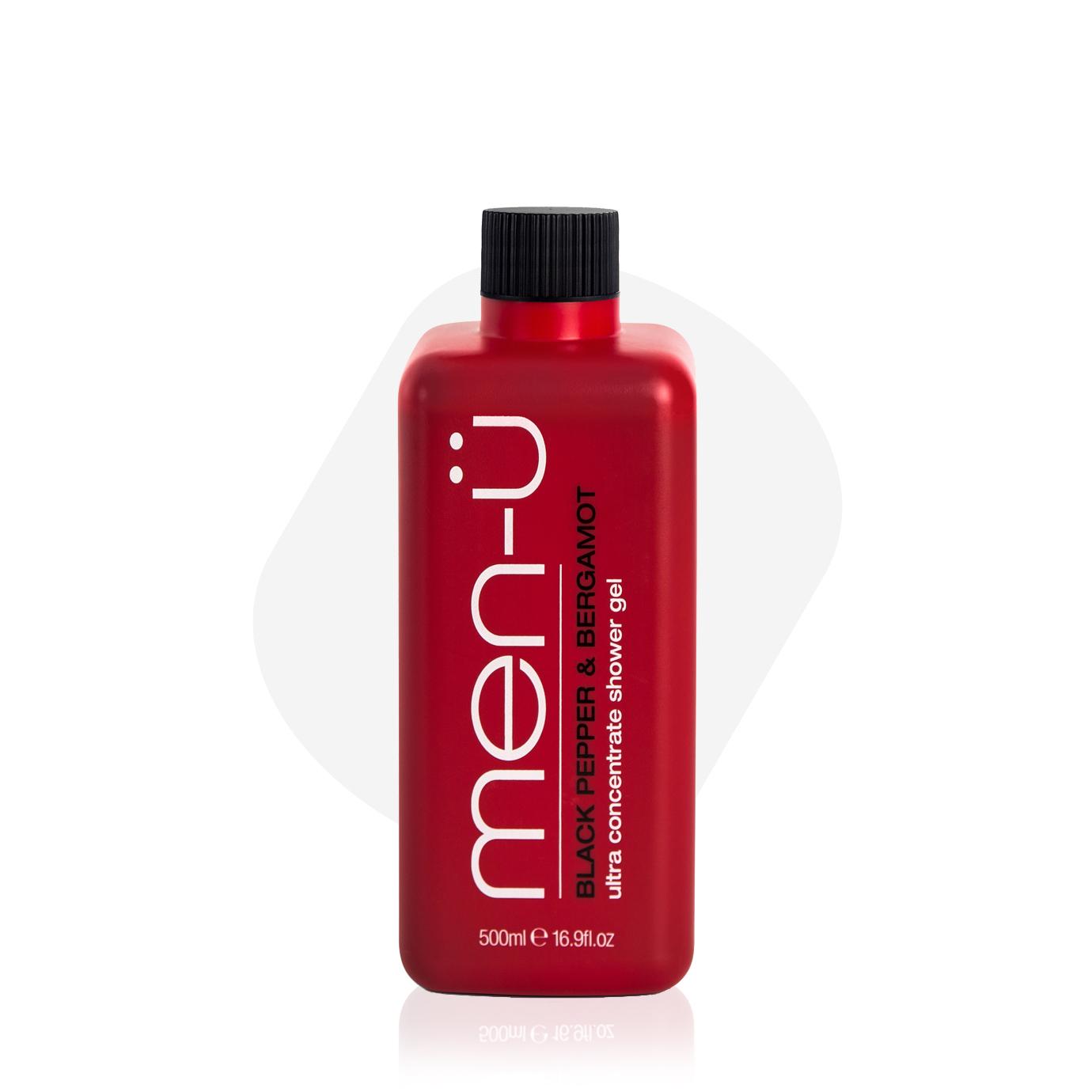 men-u Black Pepper & Bergamot Shower Gel - żel pod prysznic 500 ml (1)