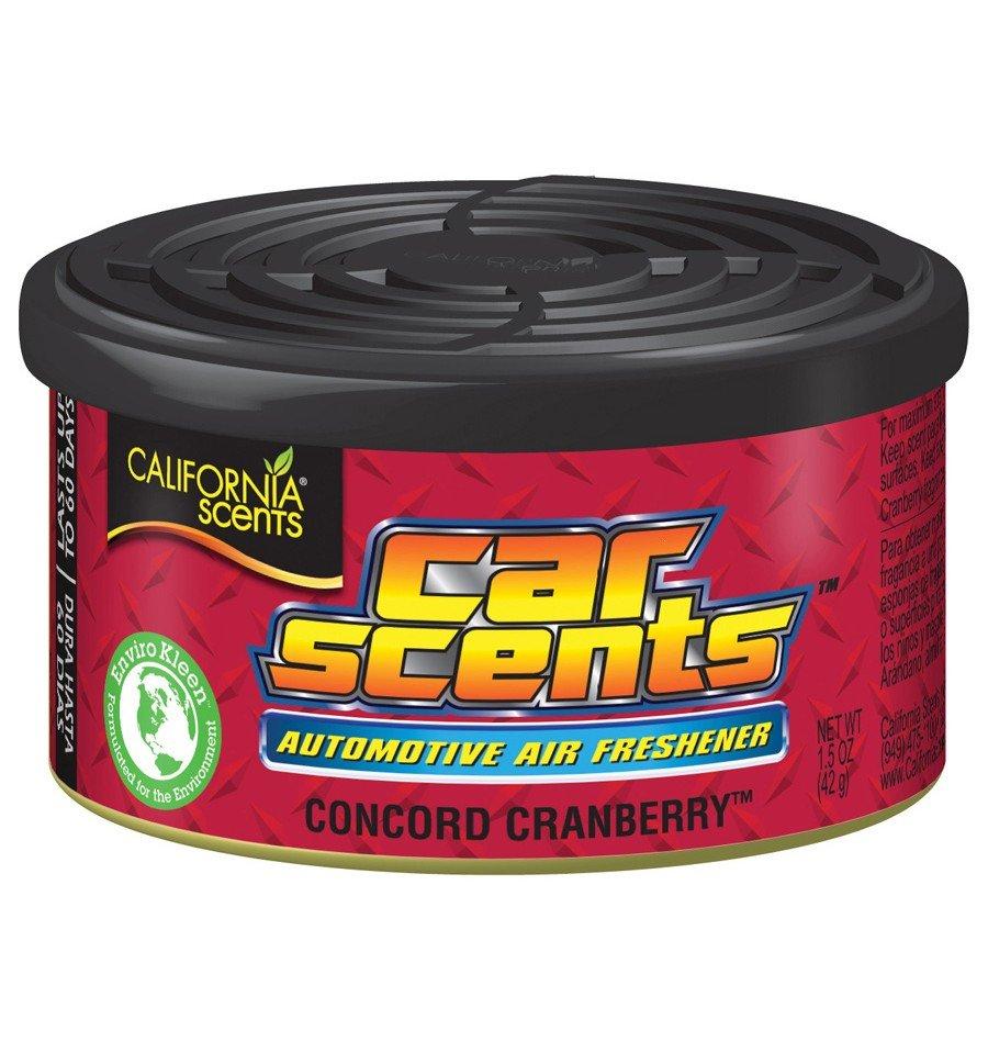 California Scents puszka zapachowa do auta Cranberry - zapach żurawiny