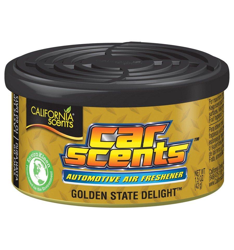 California Scents puszka zapachowa do auta Golden State Delight - zapach słodkiej ameryki
