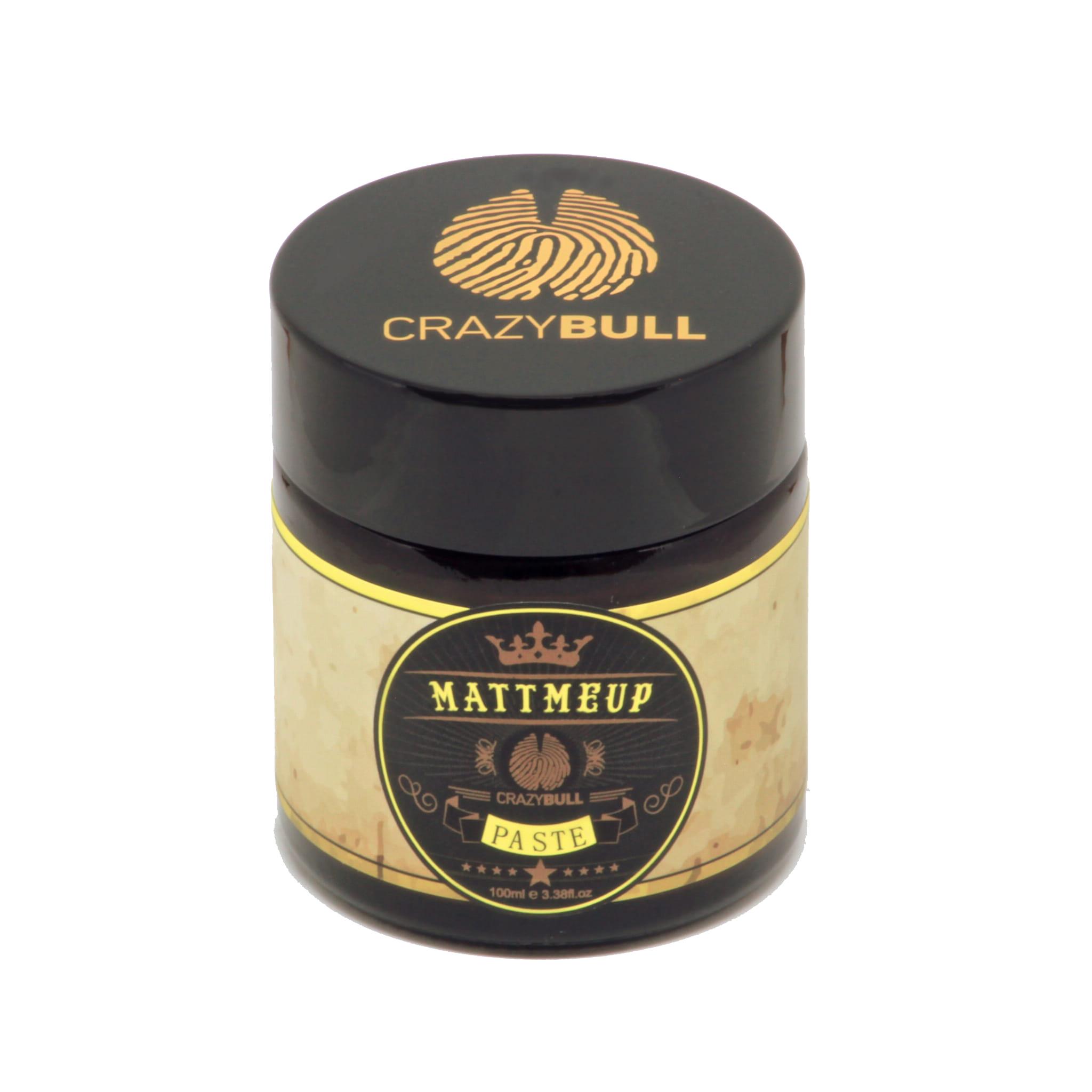 Crazy Bull Mattmeup - pasta do włosów średni chwyt / matowe wykończenie 100 ml
