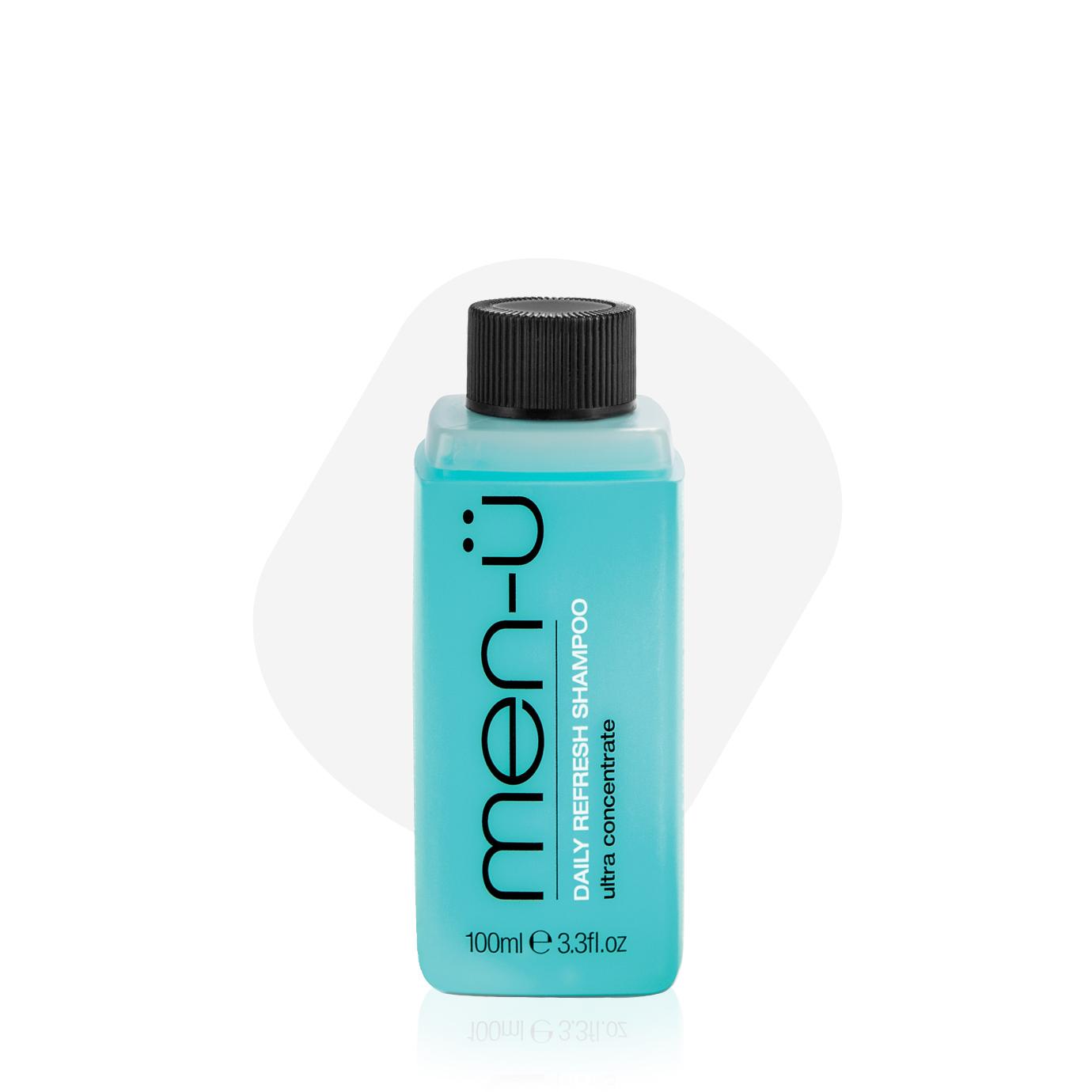 men-u - męski codzienny szampon nawilżający do włosów 100ml produkt Men`s Health (uzupełnienie)