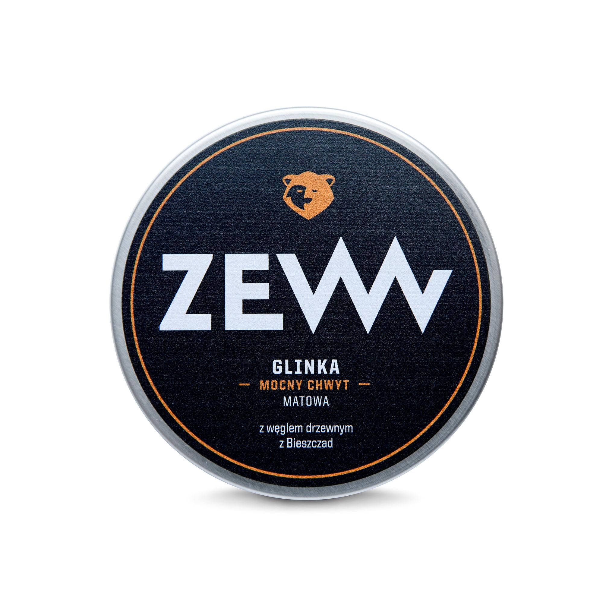 ZEW Pomada do włosów z węglem drzewnym 100 ml (1)