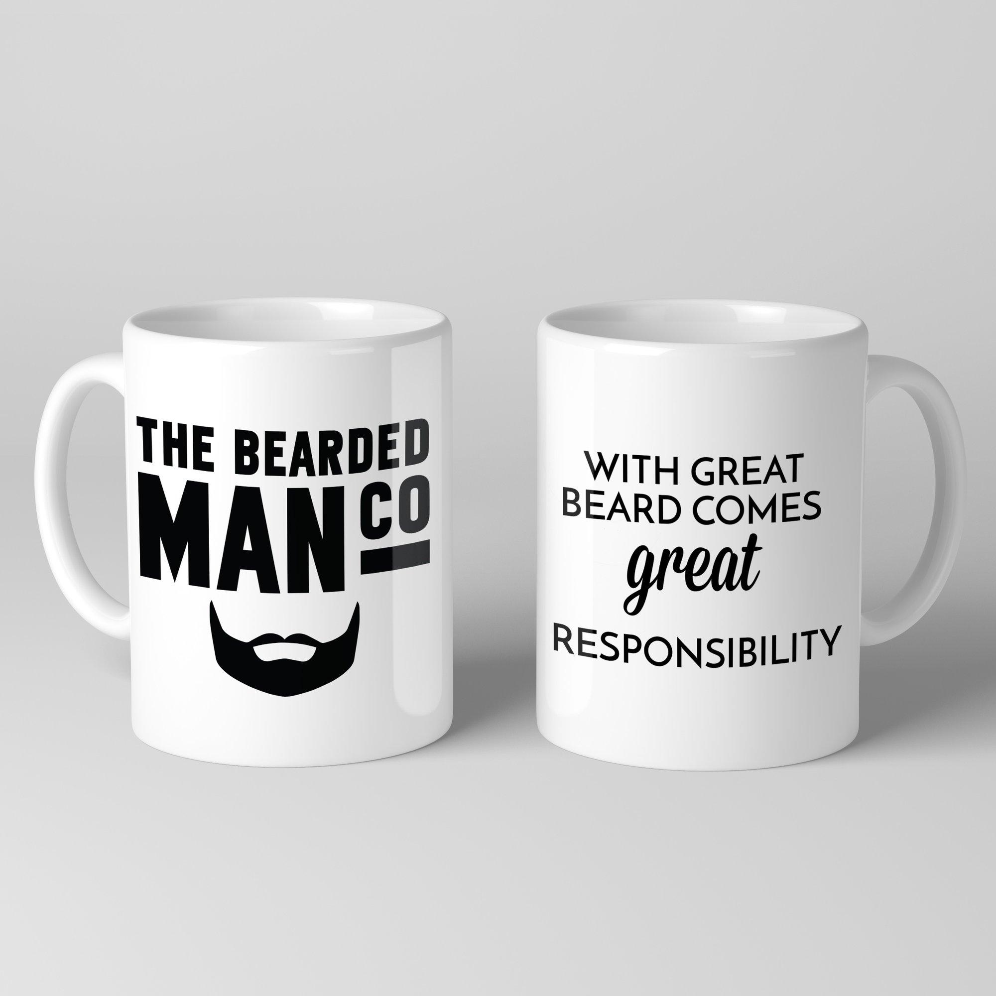 Bearded Man Co Beard Mug 01 - Unikatowy kubek brodacza  (1)