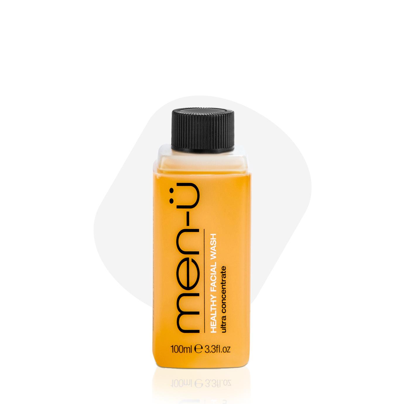 men-u Antybakteryjny żel do mycia twarzy 100 ml (uzupełnienie)