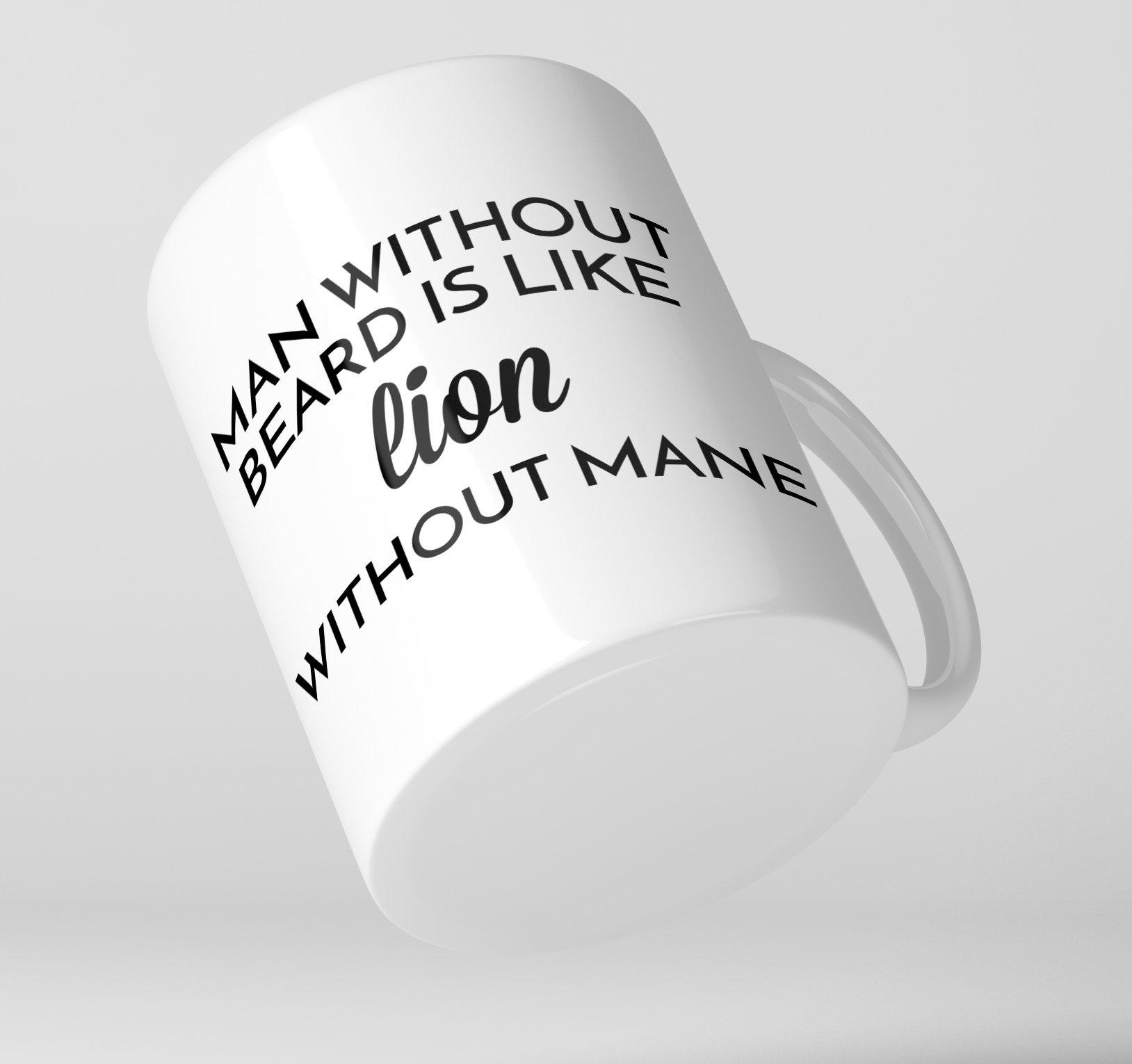 Bearded Man Co Beard Mug 02 - Unikatowy kubek brodacza (1)