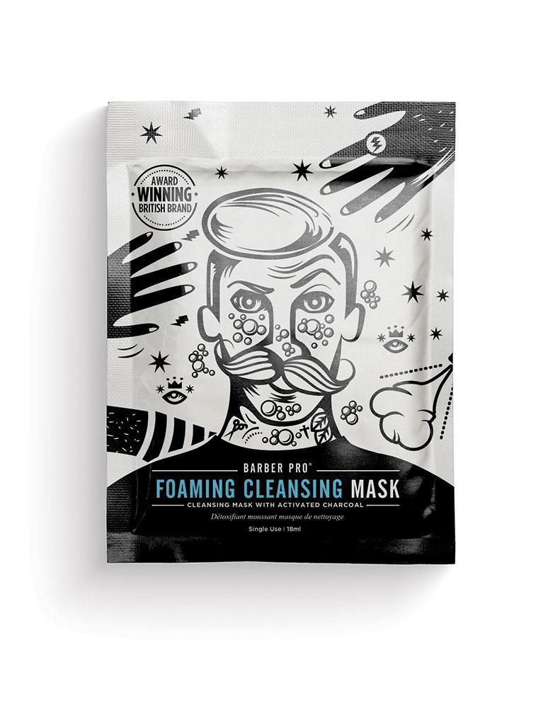 BARBER PRO Face Putty - peelingująca maska z węglem aktywowanym 40 ml (1)