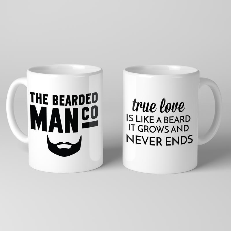 Bearded Man Co Beard Mug 04 - Unikatowy kubek brodacza