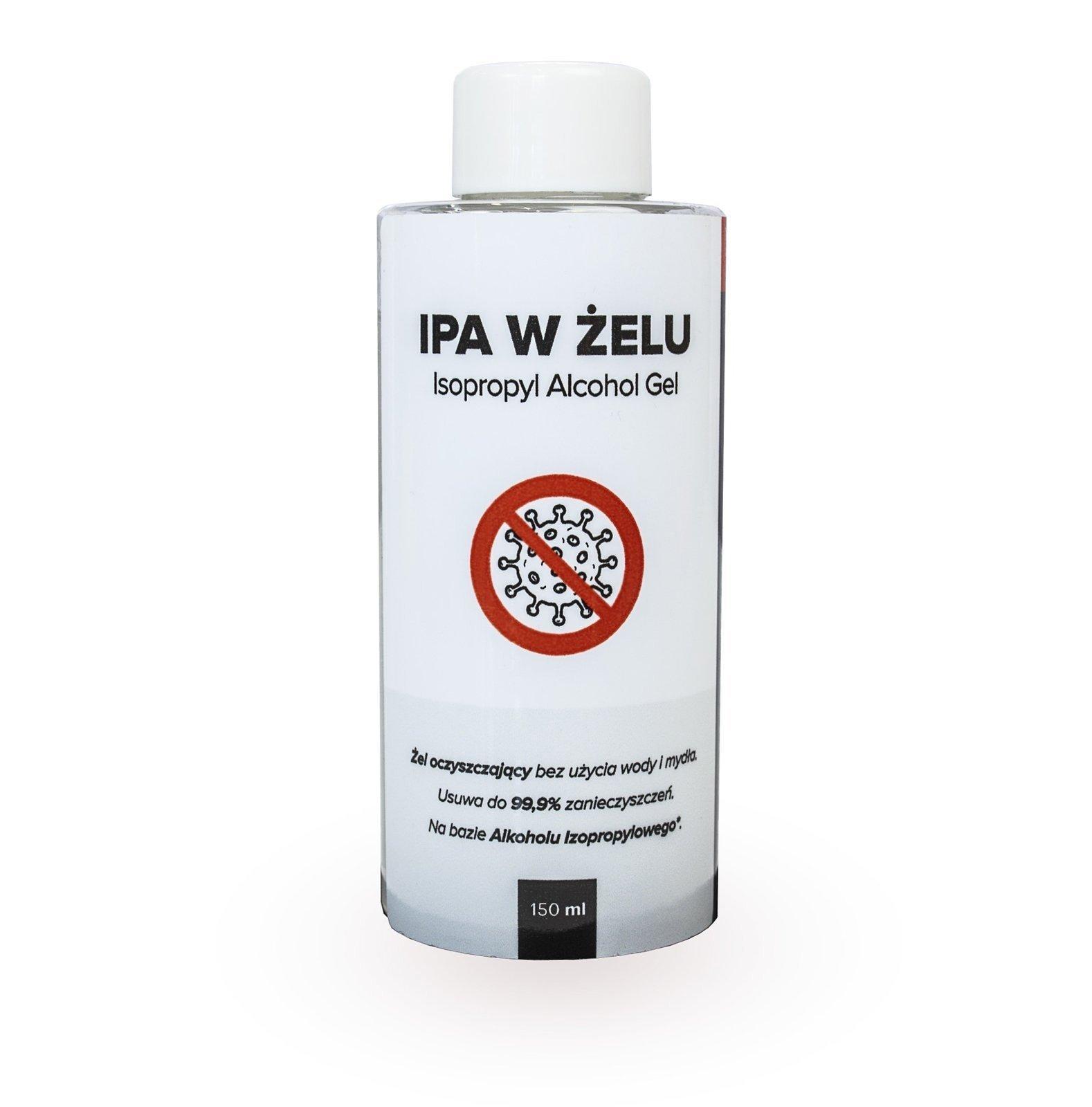 RR Customs IPA w żelu - alkohol izopropylowy w żelu do dezynfekcji 150 ml