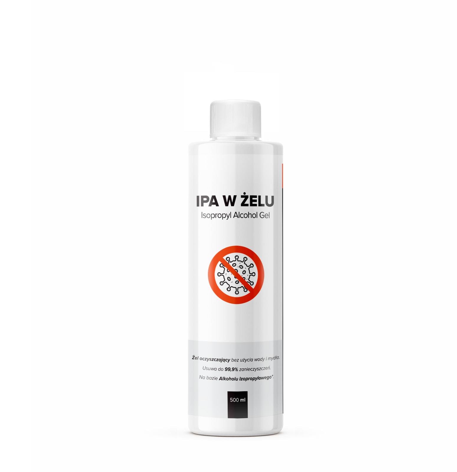RR Customs IPA w żelu - alkohol izopropylowy w żelu do dezynfekcji 500 ml