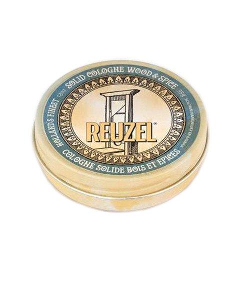 Reuzel Solid Cologne - balsam po goleniu w kremie Wood & Spice 35 g