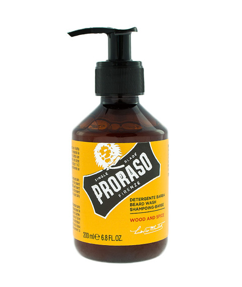 PRORASO szampon do brody WOOD & SPICES 100ml