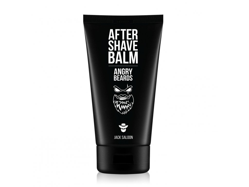 Angry Beards Balsam po goleniu Saloon 150 ml