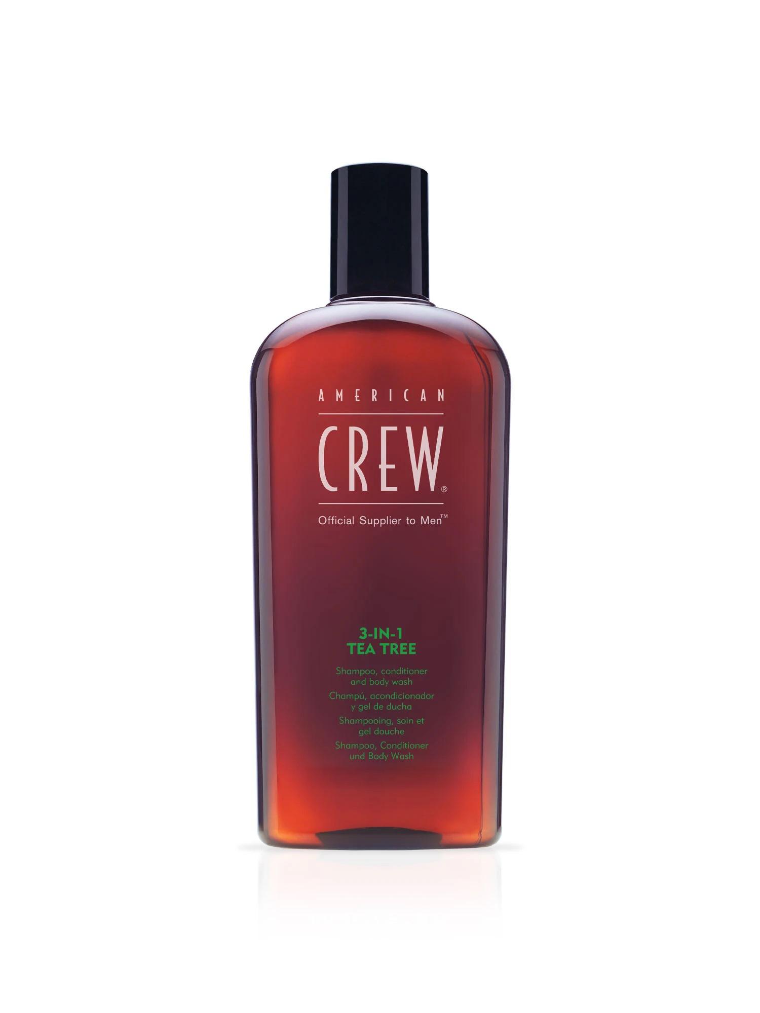 American Crew Tea Tree - 3w1 męski szampon żel pod prysznic i odżywka w jednym 450 ml (1)