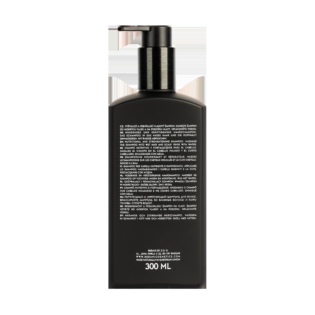 Berani nawilżający szampon do włosów - 300 ml