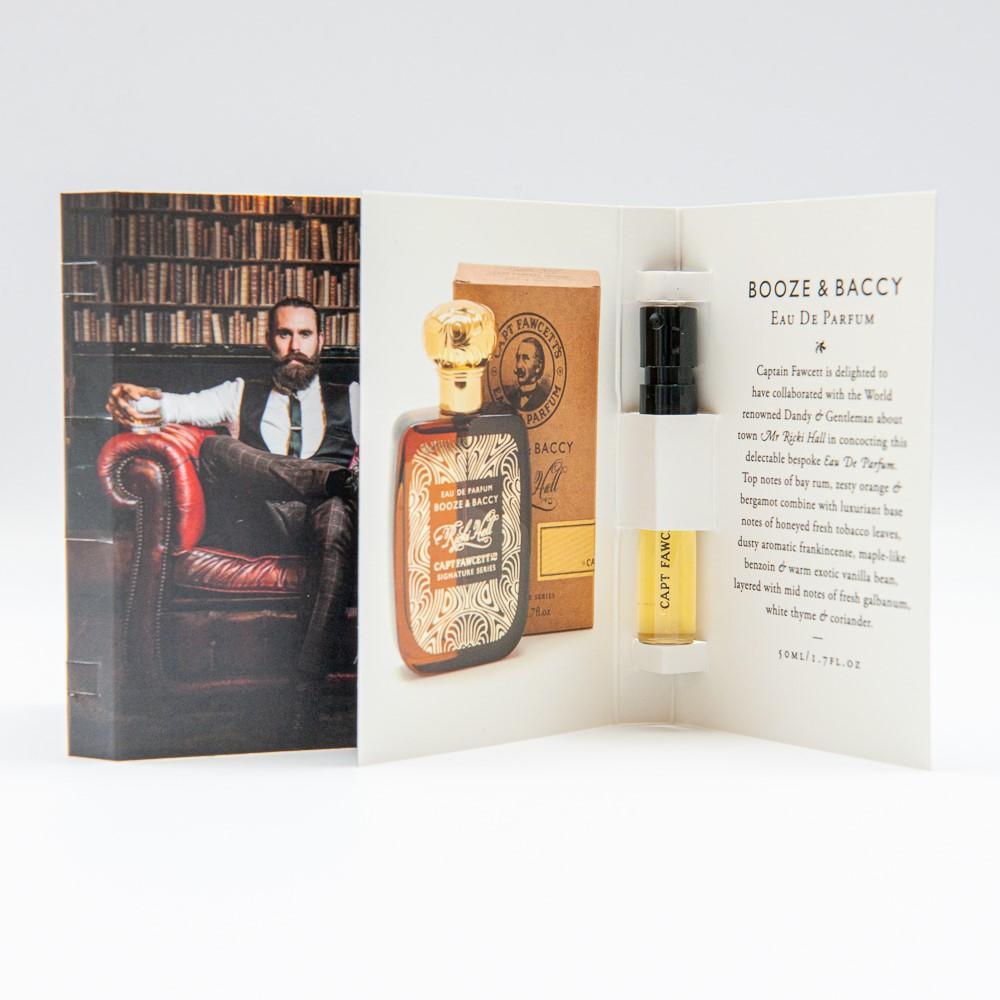 Captain Fawcett Booze and Baccy Eau de perfum by Ricki Hall 2ml - PRÓBKA