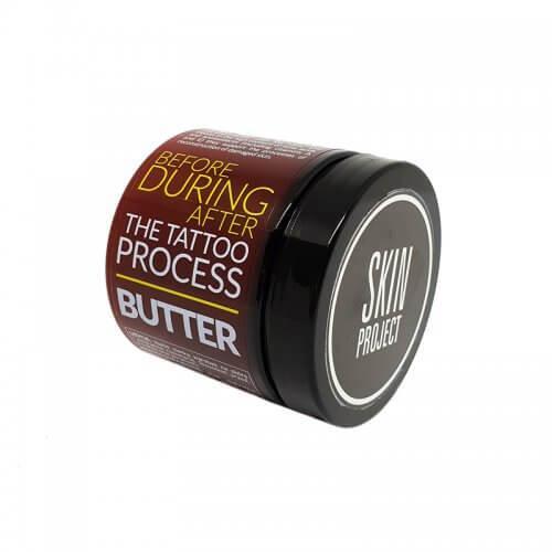 Skin Project nabłyszczające masło do tatuażu 200g